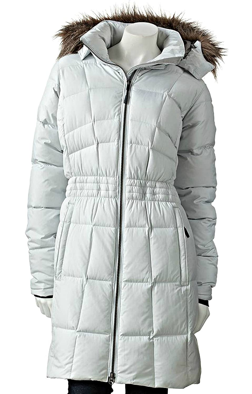 Columbia Women's Hooded Long Down Puffer Jacket COAT LUXURY SEA ...