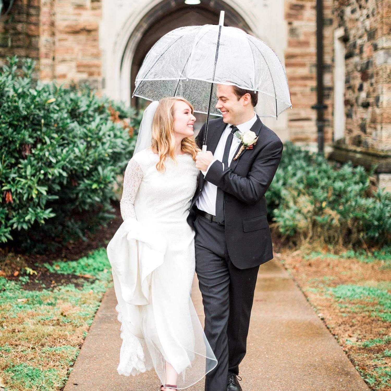 Regenschirme durchsichtig im Set