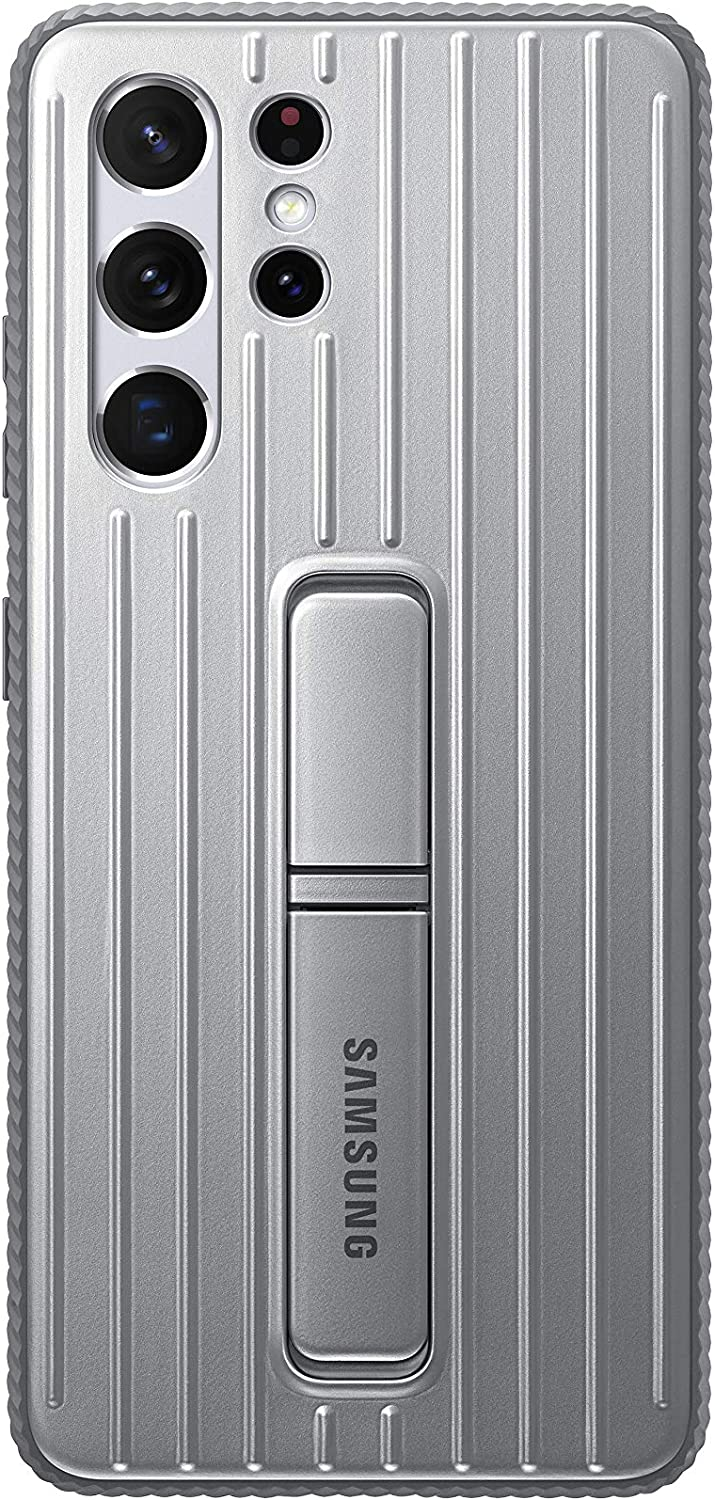 Samsung Galaxy S21 Ultra Case, Rugged Protective Cover - Silver (US Version)