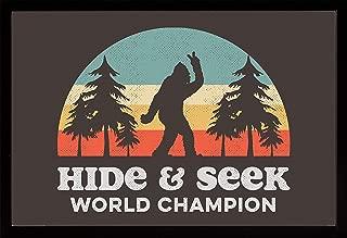 product image for Frame USA Bigfoot Hide & Seek Poster (Black Affordable Medium Frame)(24x36)