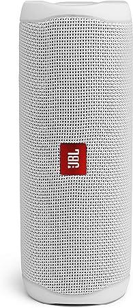 Oferta amazon: JBL Flip 5 - Altavoz inalámbrico portátil con Bluetooth, speaker resistente al agua (IPX7), JBL PartyBoost, hasta 12h de reproducción con sonido de calidad, blanco