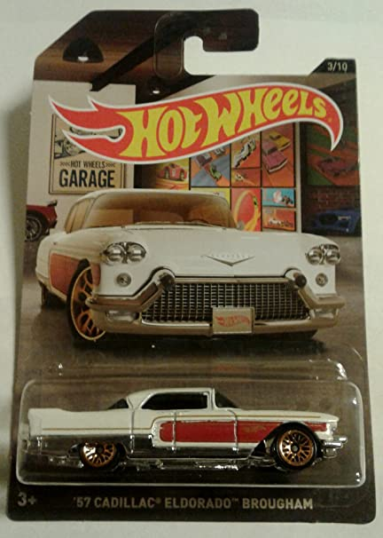 Amazon.com: Hot Wheels Wal mart Exclusive Garage Series '57 CADILLAC