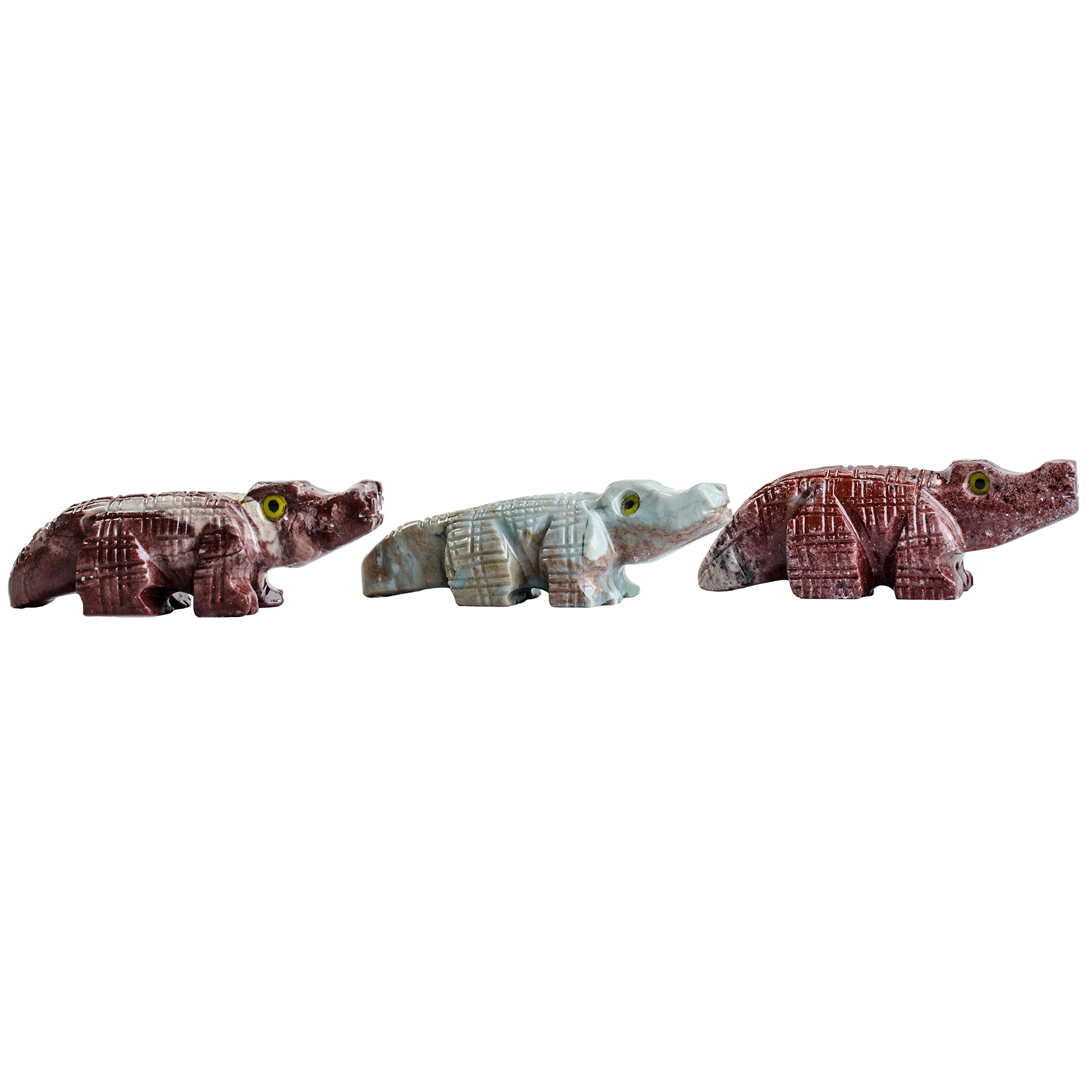 Digging Dolls : 30 pcs Artisan Alligator Collectable Animal Figurine - Party Favors, Stocking Stuffers, Gifts, Collecting and More!