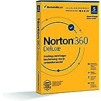 Norton 360 Deluxe 2020, 5 Apparaten, 1 Jaar, Secure VPN en Password Manager, PCs, Macs, tablets en smartphones, envelop…