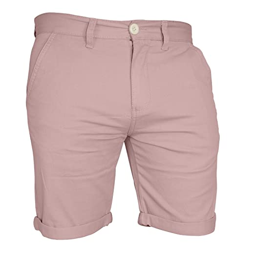 6711bf77 Mens Chino Shorts Casual Cargo Combat Flat Front 100% Cotton Half Pant