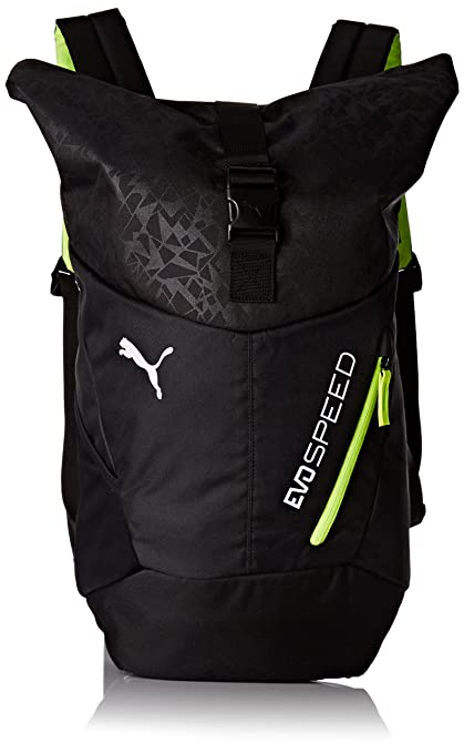 7c360a43598c Puma Evospeed Backpack Black Casual Backpack (7430802)  Amazon.in  Bags
