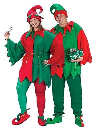 a566006bf0d4 Amazon.com: Fun World Costumes Plus-Size Plus Size Elf Costume, Red ...