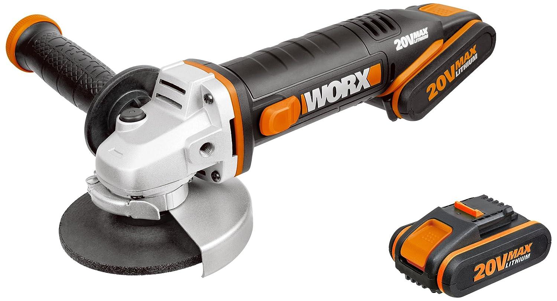 WORX WX800 18V 20V MAX Cordless Angle Grinder