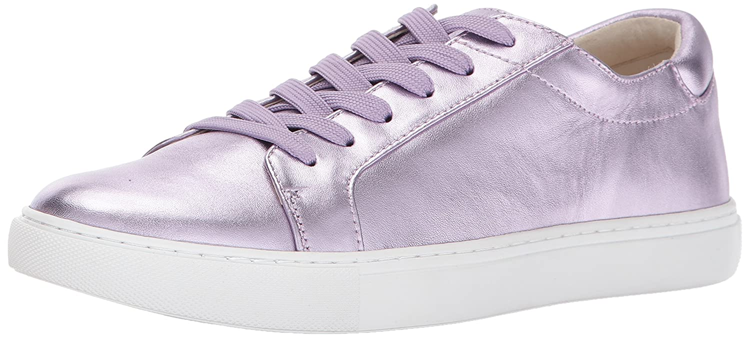 Kenneth Cole New York Women's Kam Low Profile Metallic Leather Fashion Sneaker B01N4R8NNC 6.5 B(M) US|Lavender