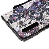 Funyye Strap Magnetic Flip Case for Huawei P20