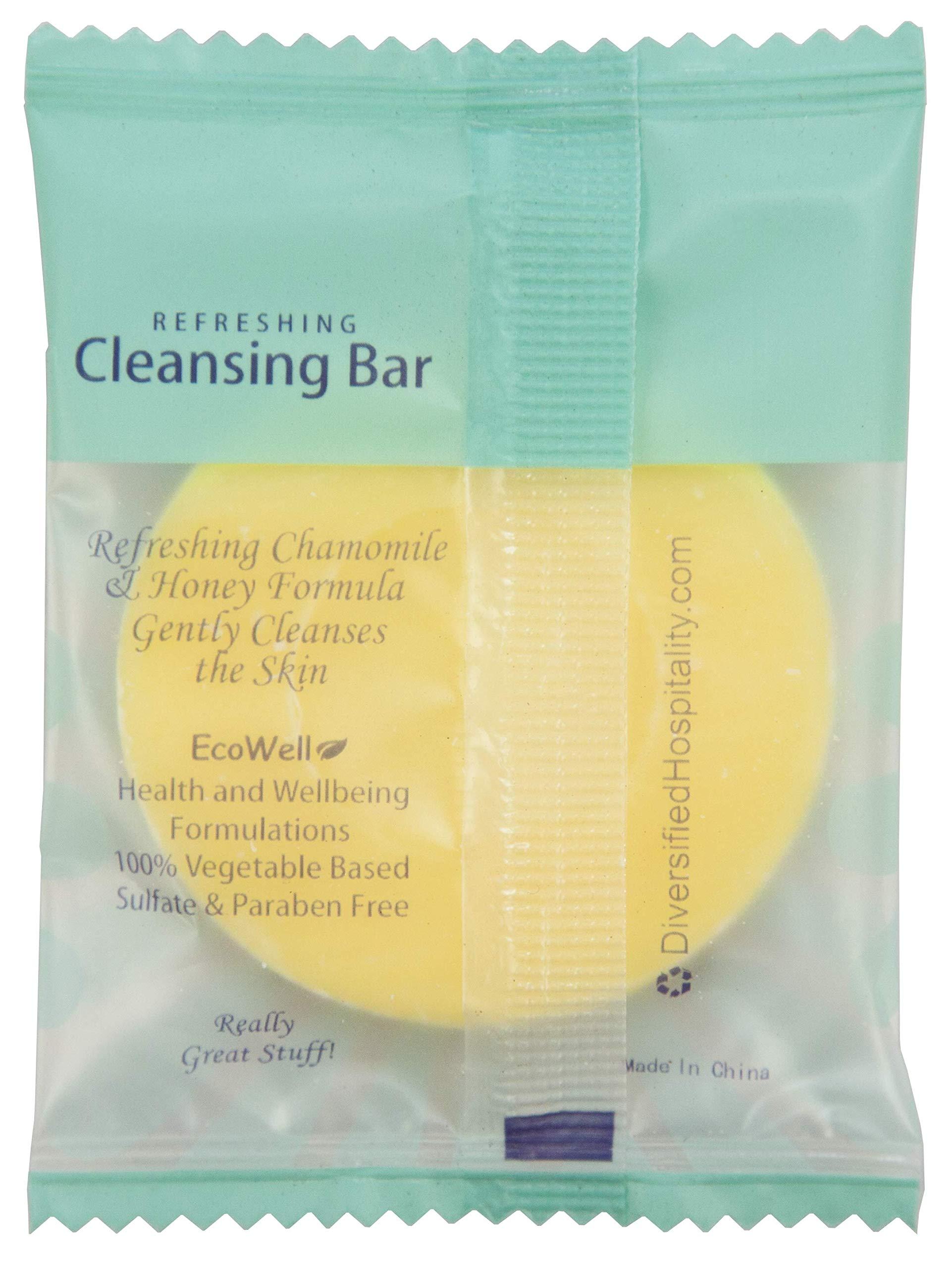Eco Botanics Travel-Size Hotel Cleansing Bar Soap, .5 oz (Case of 250) by Eco Botanics (Image #4)