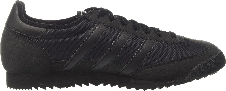 adidas Dragon OG, Baskets Basses Mixte Adulte Noir Core Black Core Black Core Black
