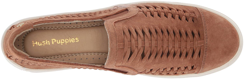 Hush Puppies Womens Gabbie Woven Slip on Loafer