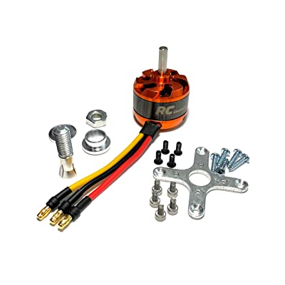 3530 1700Kv Brushless Motor Kit with 3.5mm Bullet Plugs 2-4s Li-Po: Toys & Games