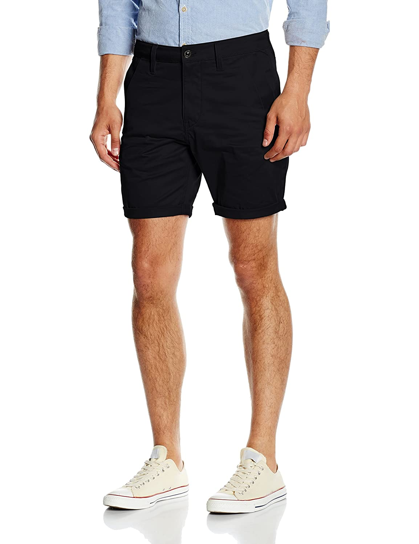 TALLA 30/32 (Talla del fabricante: 32). G-STAR RAW Bronson 1/2 Pantalones Cortos para Hombre