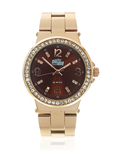 PITLANE Reloj con movimiento Miyota Woman PL-4007-3 38 mm: Amazon.es: Relojes