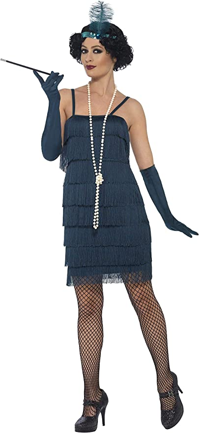 Roaring 20s Costumes- Flapper Costumes, Gangster Costumes Smiffys Flapper Costume $32.99 AT vintagedancer.com