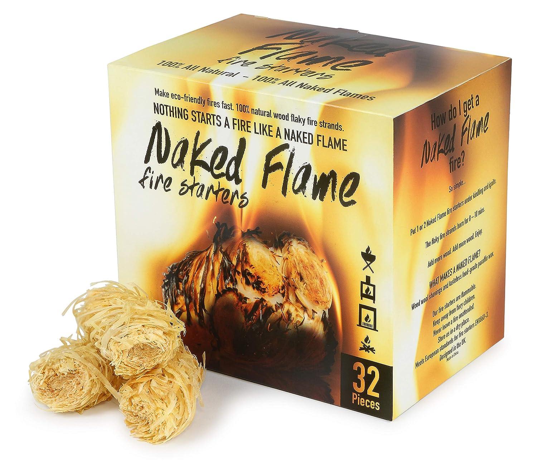Amazon.com: Naked Flame - Arrancadores de fuego 100 ...