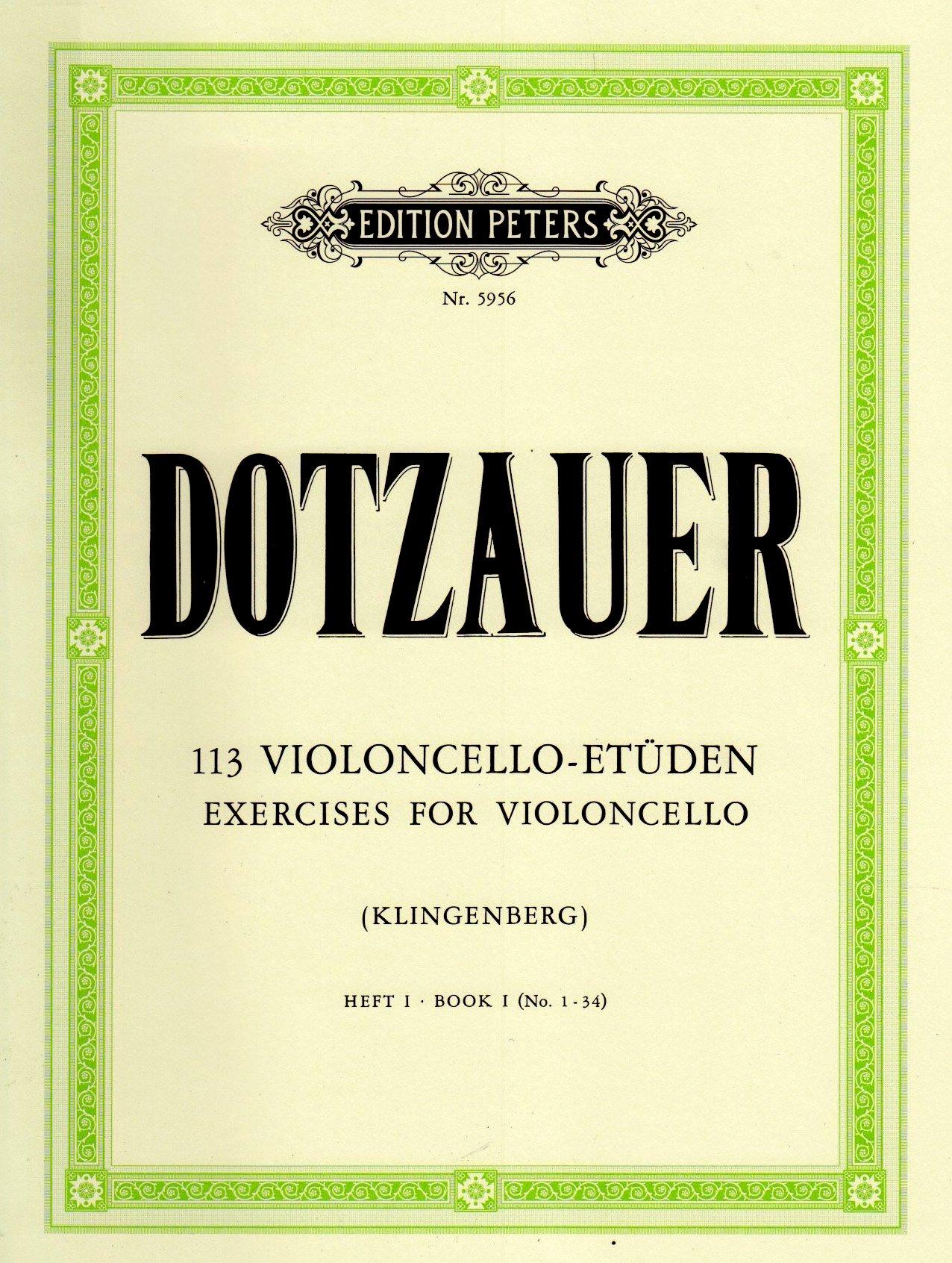 113 Violoncello-Etüden - Heft 1: Nr. 1 -34