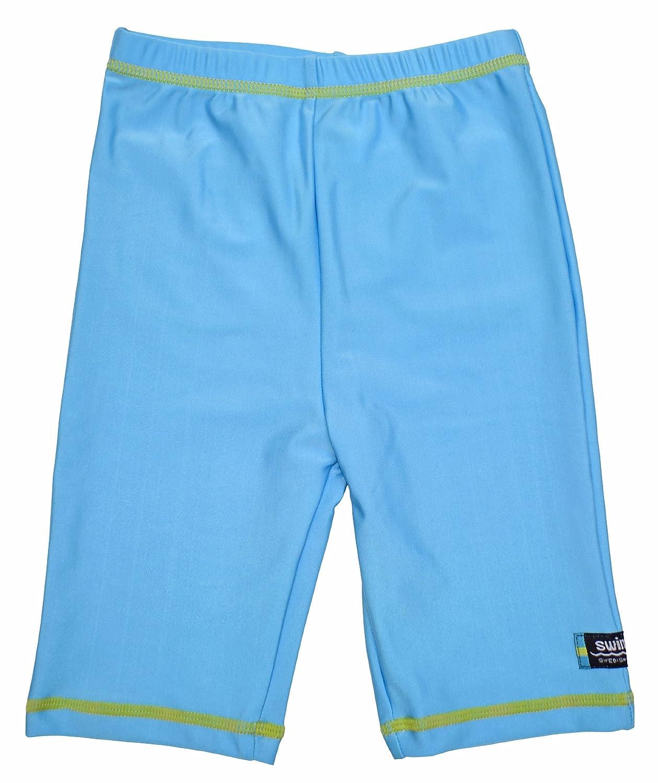 Swimpy, Pantaloncini da nuoto bambina, con protezione anti UV, Turchese (Turquoise), 1,5-2 anni 34-FI8001T/15-2YRS