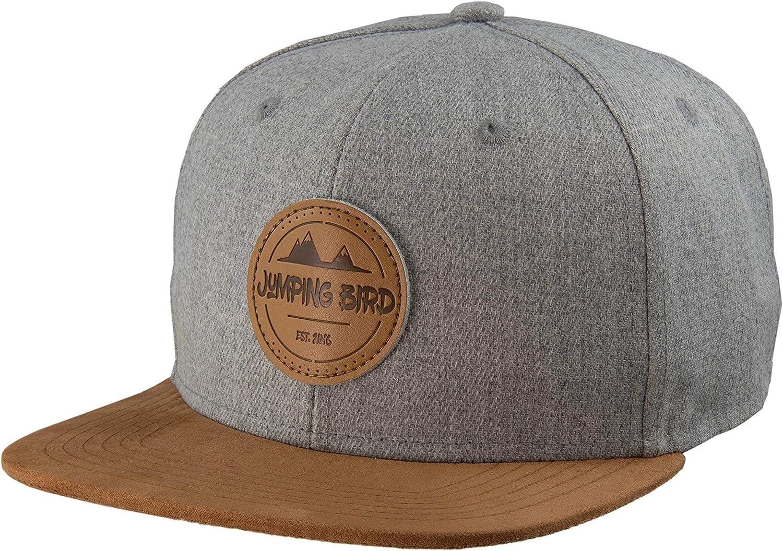 Jumping Bird Snapback Cap f/ür Damen und Herren Baseball M/ütze verstellbar stylisch und hochwertig als Accessoire f/ür jedes Outfit