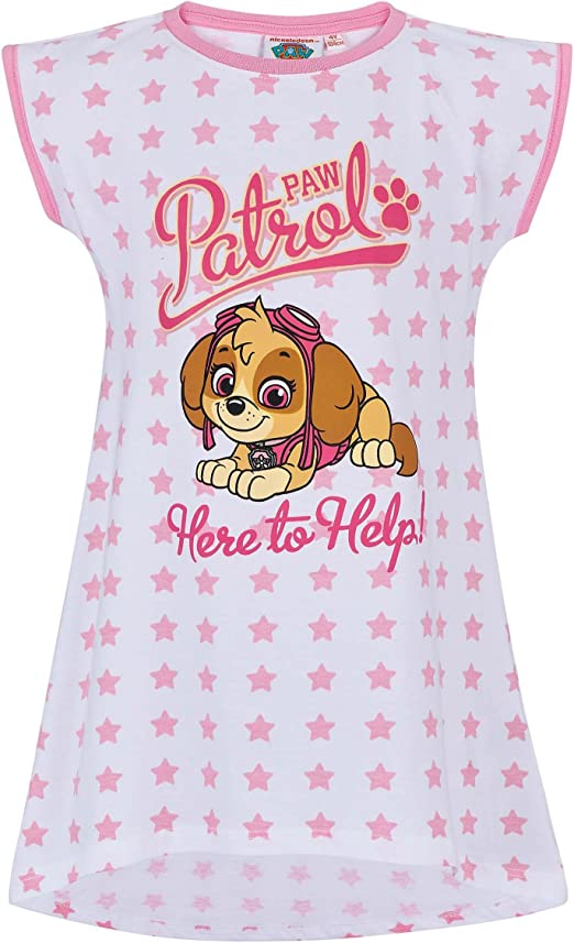 Nachthemd Rosa Schlafanzug Schlafshirt 98-128 Pyjama PAW PATROL