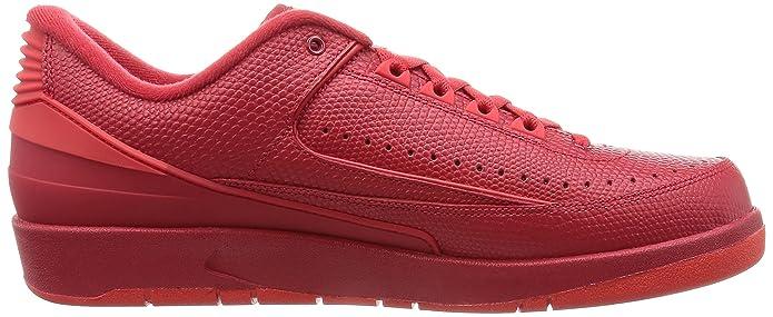 1b0594b7004400 Nike Men s Air Jordan 2 Retro Low Basketball Shoes  Amazon.co.uk  Shoes    Bags