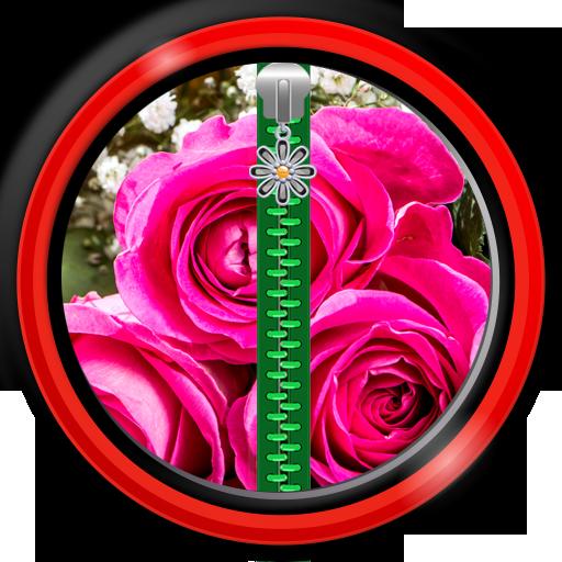 Screen Locker - Rose Flowers