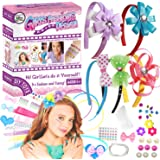 Toynspring Girls Fashion Headbands Making Kit Hair Bands Accessories for Girls Ages 4-12, Girls Arts and Crafts DIY Headband