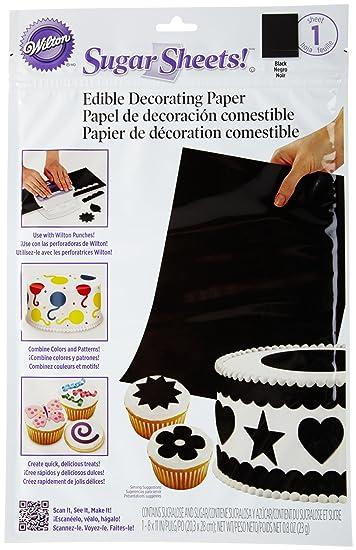 Workbook baby shower games printable worksheets free : Amazon.com | Wilton Sugar Sheet, Black: Dessert Decorating ...