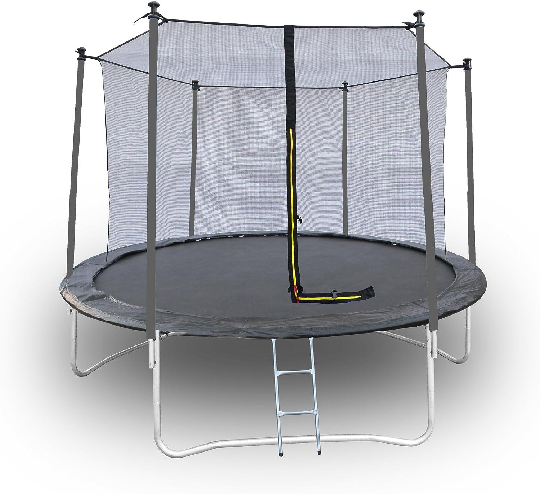 YNLRY Trampoline pour enfant avec filet de protection pour le trampoline 150 kg Tissu Oxford tissu de saut en polypropyl/ène tube en acier poly/éthyl/ène. bleu YELLOW