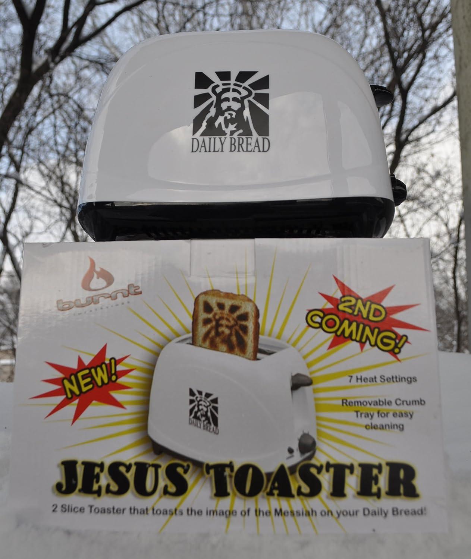 Jesus Toaster Image