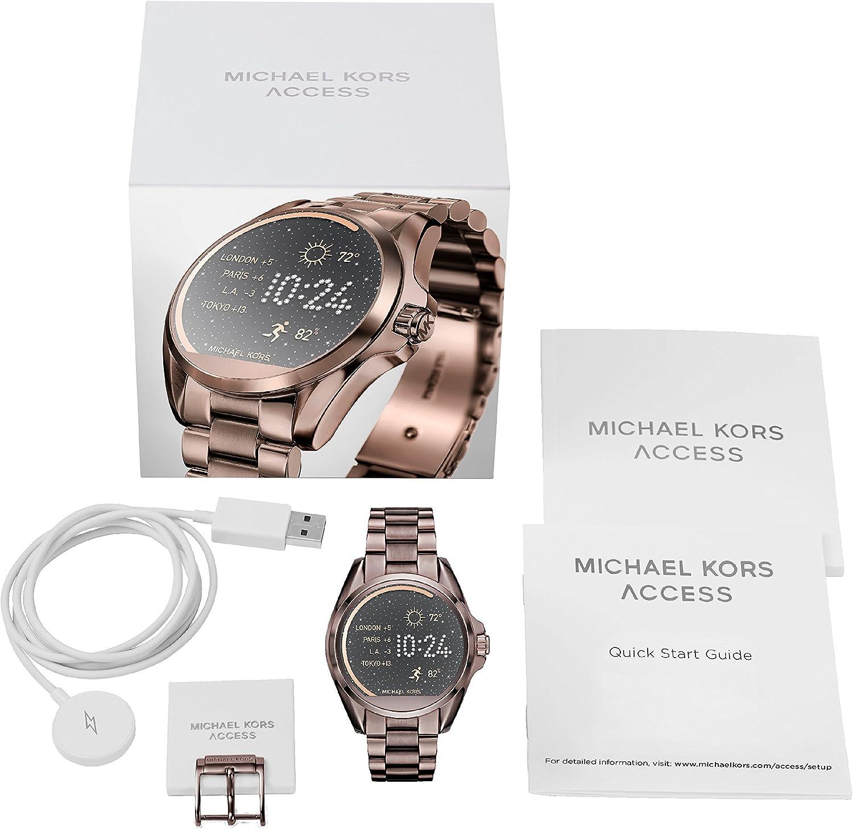 Michael Kors Reloj Analogico para Mujer de Digital con Correa en Acero Inoxidable MKT5007: Amazon.es: Relojes