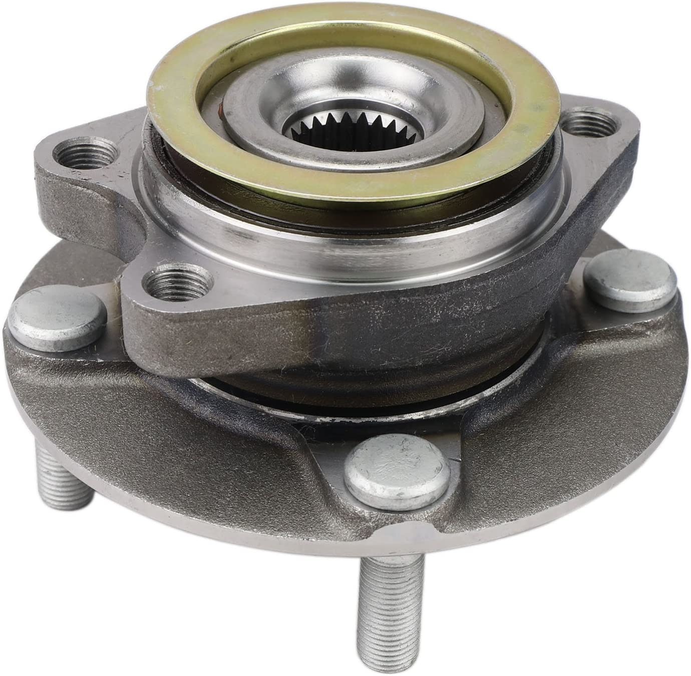 2-Pack Subaru Saab 9-2X, See Description for Details Forester QJZ Impreza Outback Legacy 517008 Front Driver and Passenger Side Wheel Hub Bearing Assembly Compatible with Nissan Micra Baja