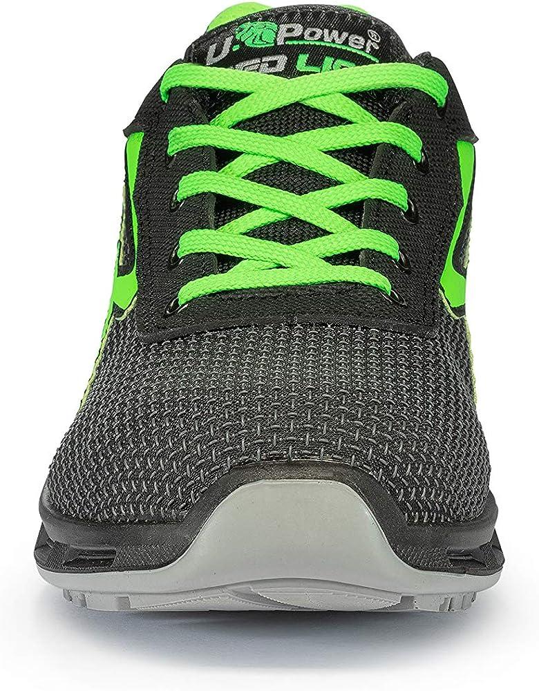 U-Power Strong S3 SRC Zapatos de Seguridad Unisex Adulto