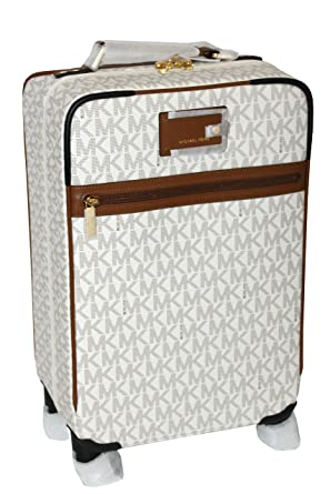 dee80c135 ... amazon michael michael kors signature travel trolley rolling carry on  suitcase vanilla luggage 92fa2 f46b6