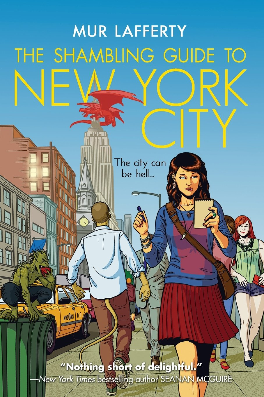 Image result for the shambling guide to new york city