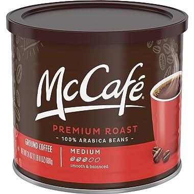 Premium Medium Roast Ground Coffee Blend From McCafe