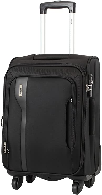 VIP Tuscany II Polyester 78 cms Black Strolly (STTUSW78BLK) Suitcases & Trolley Bags at amazon
