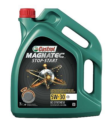 Castrol MAGNATEC Stop-Start Aceite de Motor 3W-30 C3: Amazon.es: Coche y moto