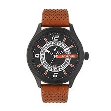 Fastrack Analog Black Dial Men's Watch-38050NL02 / 38050NL02
