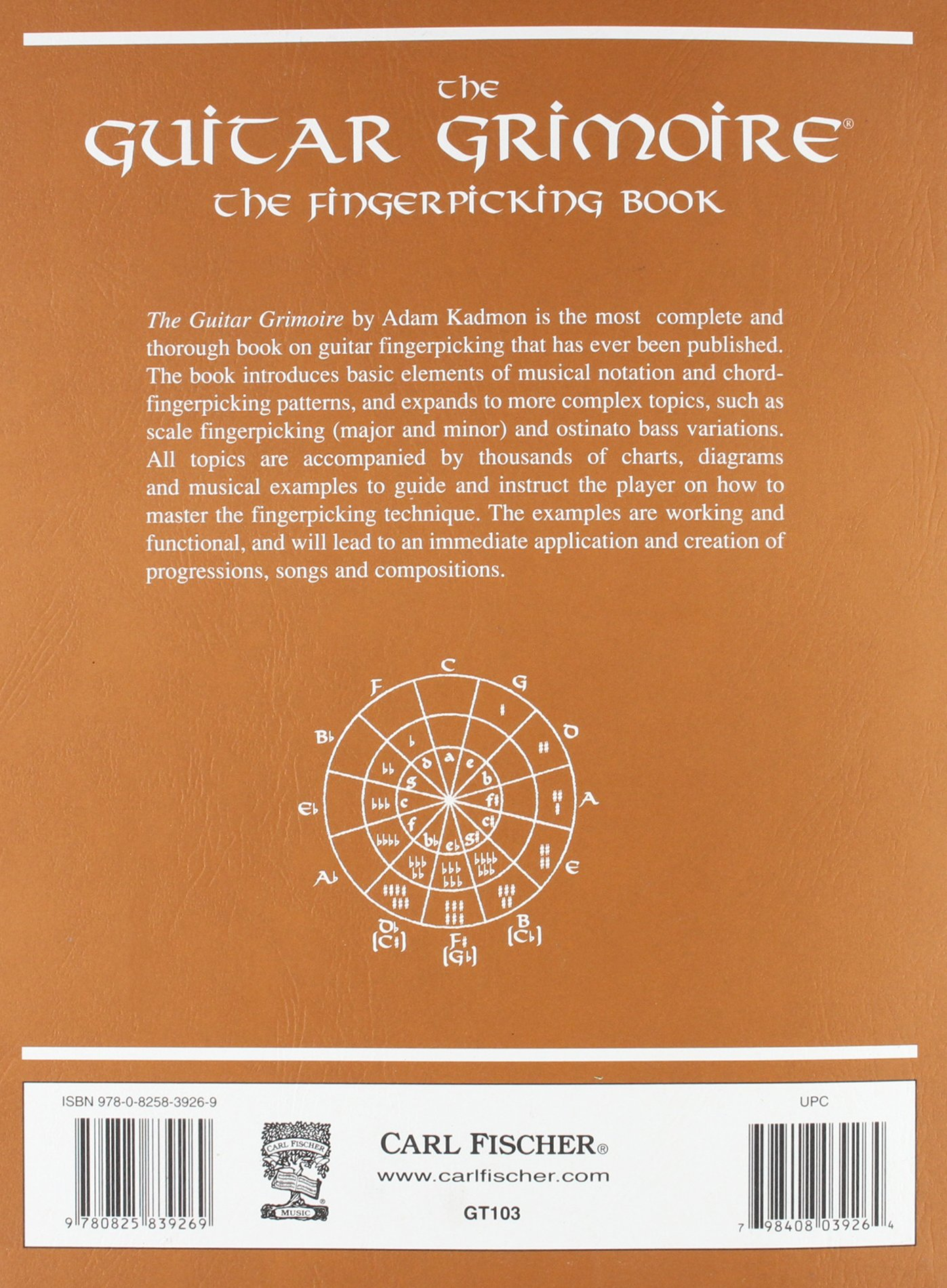 Amazon Carl Fischer Guitar Grimoire The Fingerpicking Book