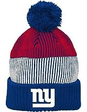 NFL Youth Boys Team Stripe Cuff Pom Hat