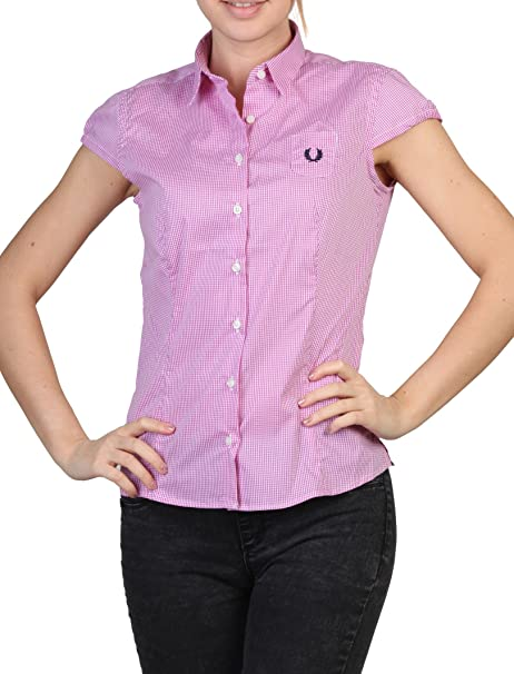 Chemise Fred Perry Femme 31212947 0036 rose - -  Amazon.es  Ropa y  accesorios 0ddf8f086186