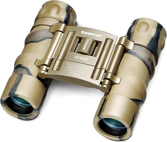 Tasco Fernglas Essentials 10x25 Camo Sport Freizeit