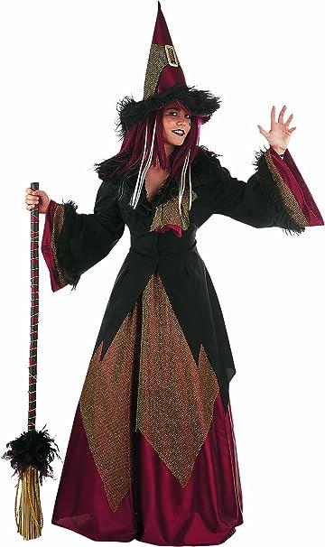Elbenwald Halloween – Bruja – Disfraz Mujer: Amazon.es: Electrónica