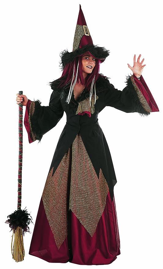 presentando molti stili vendita a basso prezzo Costume Da Strega - Travestimento Per Donna - In Tre Pezzi - Per Halloween  O Altri Eventi In Maschera - Xl