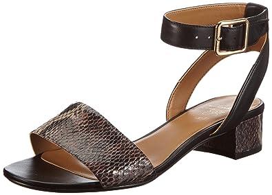 fa4a67e6bfe608 Clarks Sharna Balcony Ankle Womens Black Schwarz (Black Combi Lea) Size   6.5 (