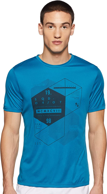 Max Men's Printed Slim Fit T-Shirt