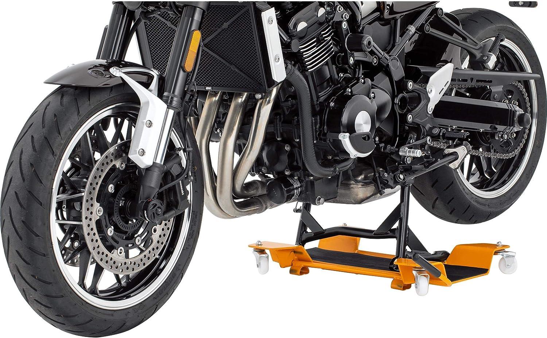 Hi Q Tools Montageständer Motorrad Ständer Motorradheber Rangierhilfe Ll Für Hauptständer Für Einfaches Verschieben Für Fast Alle Motorräder Und Roller Mit Hauptständer Rot Bis 55 Cm Breite Auto